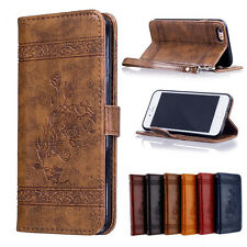 Card Slot Flip Stand Magnetic Wallet Leather Bumper Case Cover for iPhone 6 6S 7