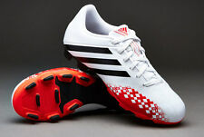 New Adidas Predito LZ TRX FG J Kids Soccer boots Red and White