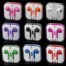 9 Colors Headphones for Apple iPhone 5 5S 6 6S EarPods Earphones W/Remote & Mic