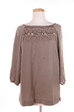 Banana Republic Hertiage Green Embroidered  Blouse M
