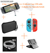 HoT For Nintendo Switch Bag Case / Screen Protector Box Cap Accessories