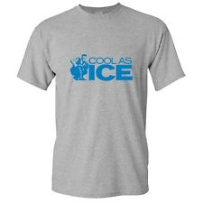 COOL AS ICE - Cool Humor unisex Graphic  Funny Novelty T-Shirt