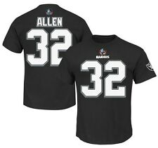 Marcus Allen Oakland Raiders NFL Mens 3 Hit Player Shirt Black Big & Tall Sizes