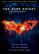 The Dark Knight Trilogy (DVD, 2012, 3-Disc Set, Limited Edition Gift Set)