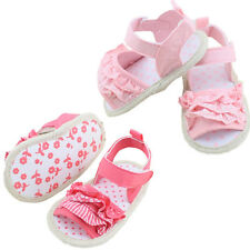 Baby Infant Kids Princess Girl Soft Sole Crib Toddler Summer Sandals Shoes 0-18M
