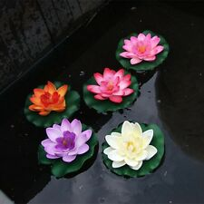 Flowers Water Lily Lotus Decoration Artificial Plants Real Artificial Lotus