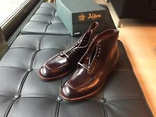 Alden Color 8  Shell Cordovan Indy Boot Trubalance size 10 B