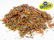 HERONS Nature Flakes with Krill Squid Gammarus and Spirulina TROPICAL FISH FOOD