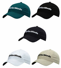 TAYLORMADE GOLF COTTON SIDE HIT HAT MENS ADJUSTABLE CAP NEW 2017 PICK COLOR!