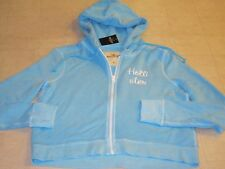 Hollister by Abercrombie Springs Hammerland Blue Hoodie For Women Sz M -NWT $40