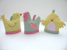 GISELA GRAHAM EASTER TREATS EGG HUNT POLKA DOT CHICK DUCK HEN EGG COSY