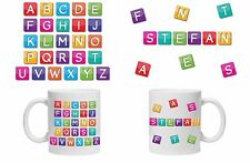 Personalised Alphabet mug/Cup for Children Any Name Perfect Gift 6oz of 11oz