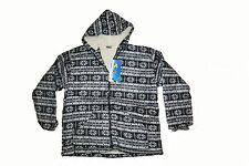 Mens Hooded Hoody Fleece Sweater Jumper with new design - Charcoal