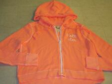 Hollister by Abercrombie Spring Hammerland Orange Hoodie Women Sz M - NWT $40