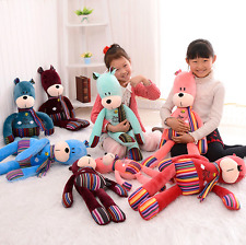 Plush toy stuffed doll cartoon animal little bubu bear ted teddy scarf lover 1pc