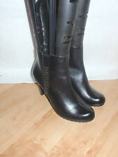 NEW Clarks softwear womens black leather studded ankle boots - various sizes