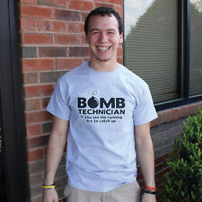 Bomb Tech Sarcastic Graphic Gift Humor Cool Adult Funny Sarcasm Novelty T Shirt