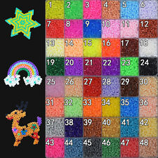 New 500/1000 PCS 2.6MM PP HAMA / PERLER BEADS for GREAT Kids Great Fun 50 colors