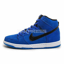 Nike Dunk High Pro SB [305050-404] Skateboarding Game Royal/Black-White-Blue