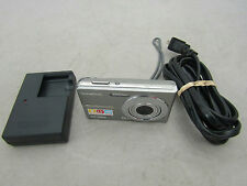 Olympus FE-360 Silver Digital Camera 8.0 MP With Charger