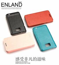KLD England Series PU Leather Flip Case Cover for Samsung Galaxy S2 S II I9100