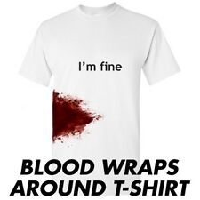 IM FINE- Sarcastic Graphic Unisex Gift Idea Cool Funny Novelty T-shirt