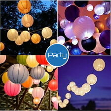20cm Round Multicolor Chinese paper Lanterns Wedding Party Decoration FT