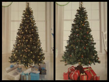 ALBERTA SPRUCE CHRISTMAS TREE 6 FT FOOT CLEAR OR MULTI PRE-LIT ARTIFICIAL NEW!