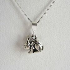 Rabbit Charm and Necklace Mini Pendant - Free Shipping