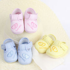 New Toddler Infant Baby Unisex Lovely Soft Sole Skid-proof Shoes 0-12 Months F7