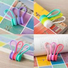 Magnetic Earphone Cable Organizer Earphone Headphone Headset Cable Winder F7