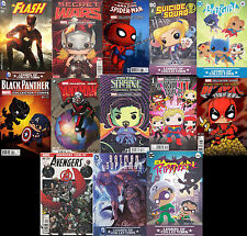 Wholesale Lot of 12, Marvel/DC Comics,17 Different Comics! (CHOOSE AT LEAST 12)