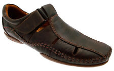 Shoe sandal brown leather Velcro Article 03A-6545 Pikolinos