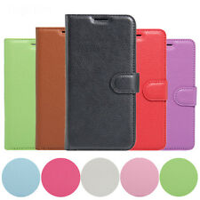 Wallet PU Leather Stand Flip Cover Case For HTC One X9+Tempered Screen Protector
