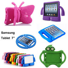 """7"""" Tablet Cover Kid ShockProof foam Holder stand Case for Samsung Galaxy Tab 3 4"""
