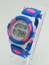 Digital LCD LED Sports Wrist Watch For Girls Kids Child Boys teens Casual light