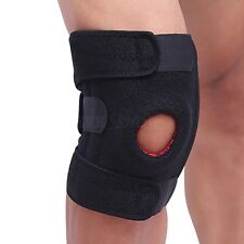 Adjustable Sports Knee Support Open Patella Neoprene Brace Gym Protective Strap