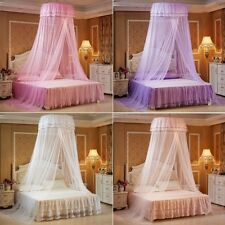 House Bedding Princess Round Canopy Lace Curtain Dome Bed Netting Mosquito Net