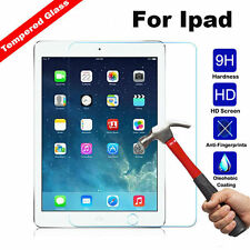 Premium Clear Screen Protector Tempered Glass Protective Film For iPad