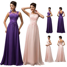 Formal Chiffon Ball Gown Wedding Evening Prom Party Cocktail Bridesmaid Dress