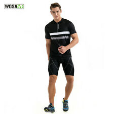New Mens Cycling Suit Short Sleeve Sportswear Bike Bicycle Jerseys + Short Sets