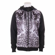 Men's Sons Of Heroes Mens Sons Of Heros Double Tiger Zip Hoody Black/wt