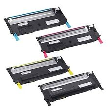 Compatible Toner Cartridge Dell 1230 BK C M Y For Dell 1230 1235