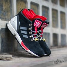 ADIDAS ZX FLUX WINTER BOOTS S82931 Men's Shoes Black/Red/White