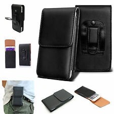 Universal Leather Top Belt Clip Wallet Book Case Cover For Various Mobile Phones