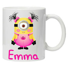 DESPICABLE ME Personalised Minion Mug Birthday Christmas Gift Present 11oz/6oz