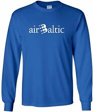 airBaltic Vintage Logo Latvian Airline Long-Sleeve T-Shirt