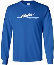 Aloha Airlines Vintage Logo US Airline Long-Sleeve T-Shirt
