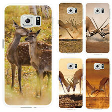Fashion Deer Protective Case Cover for iPhone7 Samsung Galaxy S7 Edge Abundant