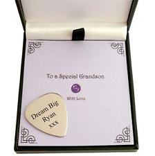 Personalised Guitar Plectrum, Guitar Pick, Any Engraving! Gift for Man or Boy